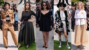Natalie Portman, Celine Dion, Jennifer Lawrence i wiele innych gwiazd oglądało pokaz Diora w Paryżu
