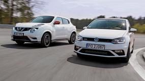 Niby są inne, a jednak... - Nissan Juke Nismo RS kontra VW Polo GTI