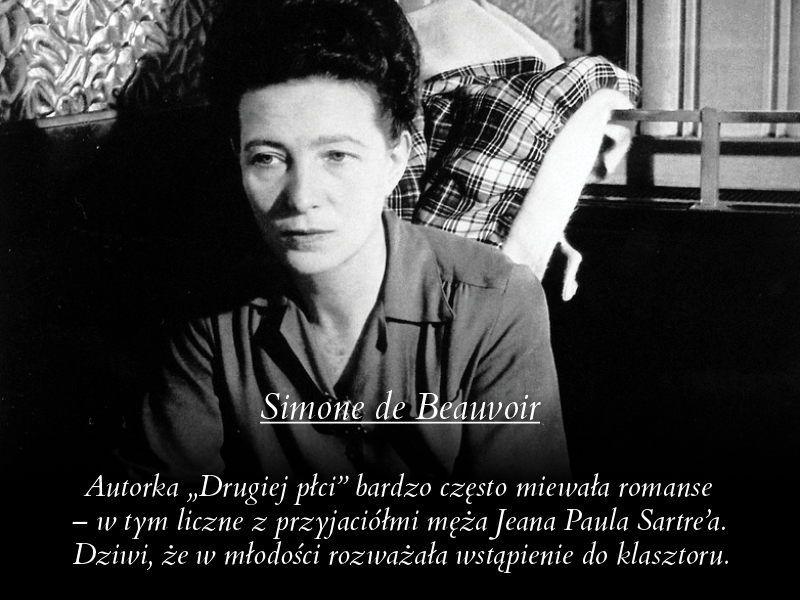 Simone de Beauvoir /