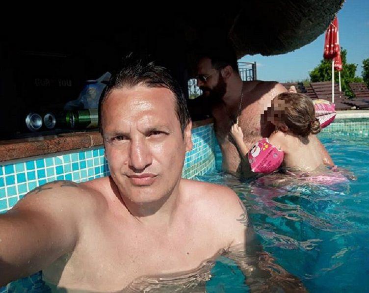 Gagi Đogani i Andrej Atijas uživaju u bazenu