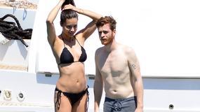 Adriana Lima z chłopakiem na wakacjach. Ależ ona ma ciało!