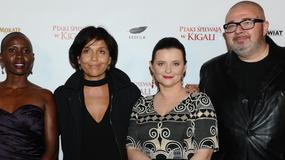 """""""Ptaki śpiewają w Kigali"""" to ostatni film zmarłego Krzysztofa Krauze. Kto się pojawił na premierze?"""