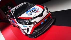 Toyota C-HR Racing - crossover trafi na tory (Targi Paryż 2016)
