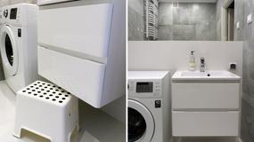 Pomysł na aranżację maleńkiej łazienki (160 x 180 cm)