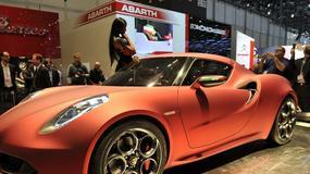 Czym zaskakuje Alfa Romeo 4C Concept?