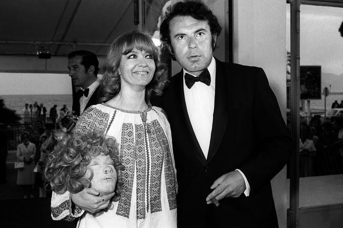 Milena Dravić i Miloš Forman