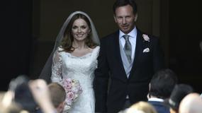 Christian Horner i Geri Halliwell już po ślubie!