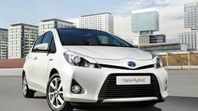 Nadjeżdża Toyota Yaris w wersji hybrydowej