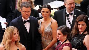 Oscary 2017: Matt Damon, Luciana Barosso i jej zabójczy dekolt