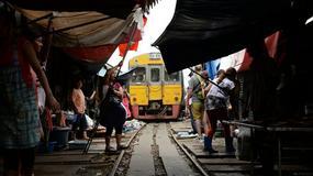 Niezwykłe targowisko w Maeklong