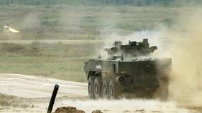 Armia-2017 - Rosjanie pokazali zagranicznym obserwatorom nowe pojazdy dla wojska