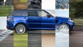 Jak szybki jest Range Rover Sport SVR?