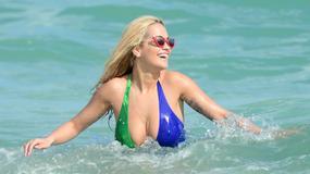 Rita Ora w seksownym stroju kąpielowym. Ale ma ciało!