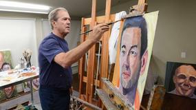 """Album z obrazami George'a Busha na liście bestsellerów """"New York Times'a"""""""