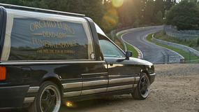 To nie była droga na cmentarz - karawan na Nürburgringu