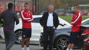 DOBRO RASPOLOŽENJE Zvezdina legenda stigla i na trening: Pižon bodri pred Arsenal /FOTO/
