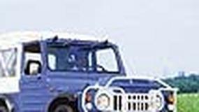 Suzuki LJ80 - Mała, wielka terenówka