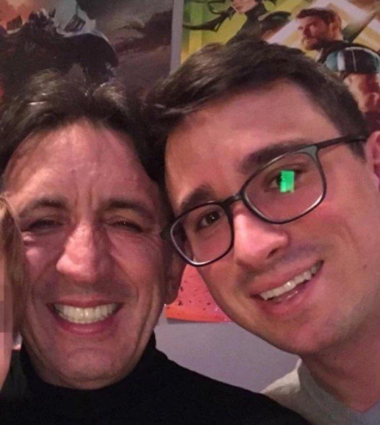 Žika sa sinom Andrijom