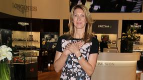 Steffi Graf na otwarciu Hour Passion Boutique