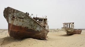 BIZARAN PRIZOR Brodovi koji su ostali BEZ MORA