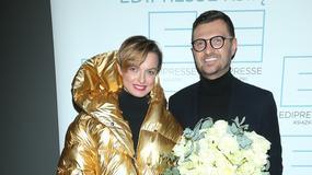 Złota Katarzyna Sokołowska, cała na biało Aneta Kręglicka i inni na premierze książki Macieja Zienia