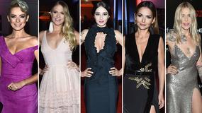 Gwiazdy w kreacjach z głębokim dekoltem na gali Flesz Fashion Night 2017. Która wypadła najlepiej?