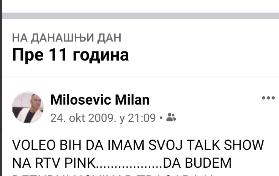 Status Milana Miloševića