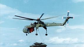 """""""Latający dźwig"""" - CH-54 Tarhe / S-64 SkyCrane"""