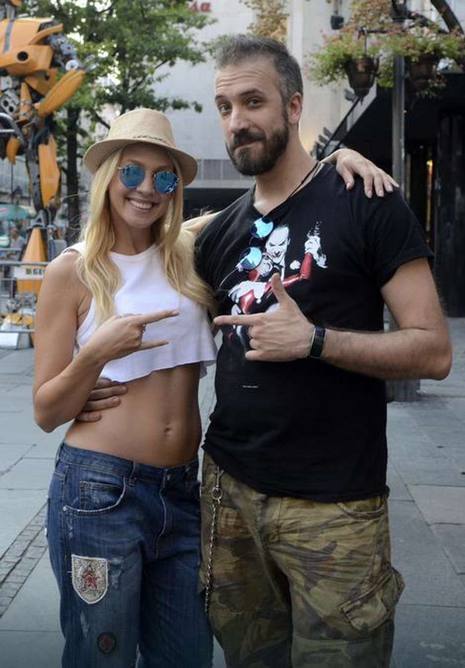 Miloš Paunović i Milica Todorović