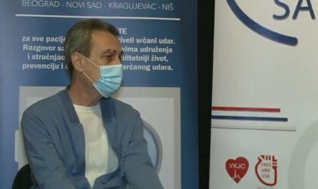 Učesnik savetovališta ovog puta bio je dr Miloš Panić, kardiolog u Kliničkom centru Zemun