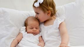 Dwie szwedzkie małe księżniczki. Czyż nie są urocze?