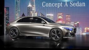 Mercedes Concept A Sedan – zwiastun nowej generacji