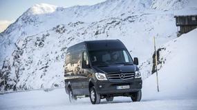 Mercedes Sprinter. Dostawczak na zimę