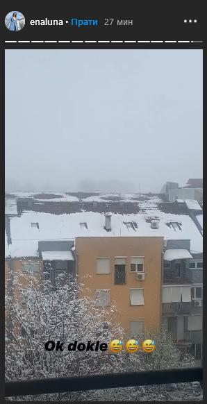 Pogled na Beograd ovih dana