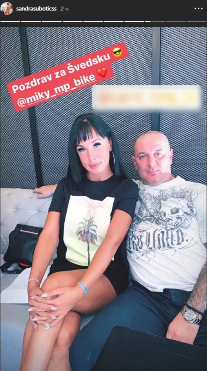 Aleksandra Subotić sa majkinim izabranikom