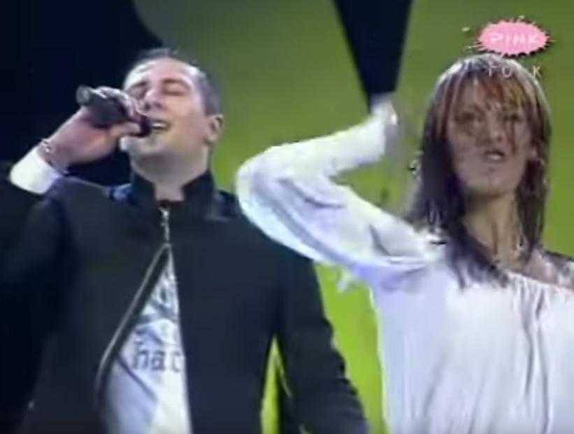 Dado Polumenta i Anamarija Kikoš 2004. godine na sceni
