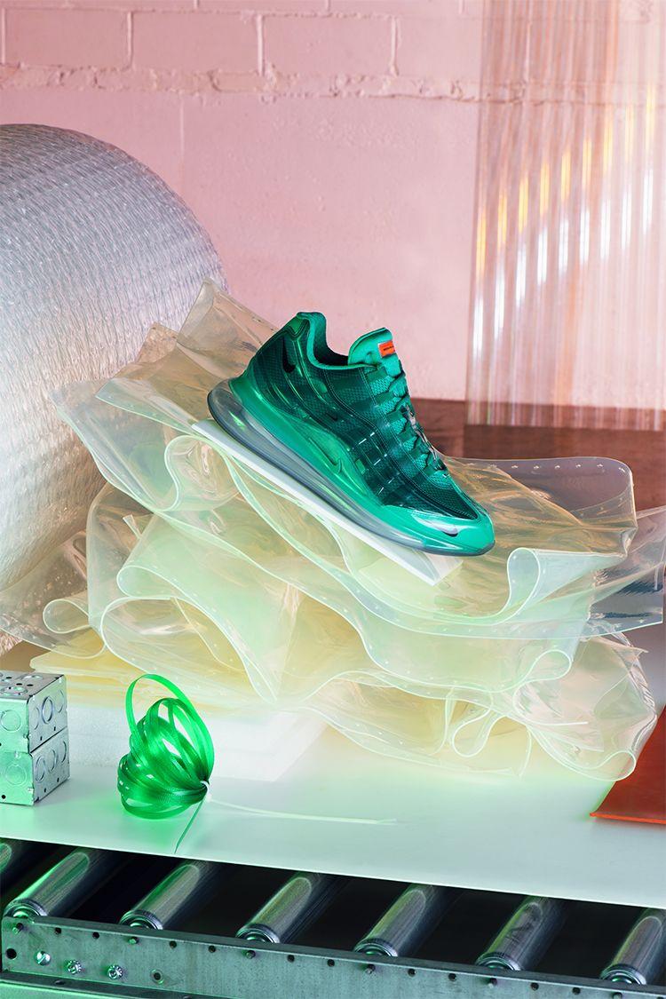 Nike Air Max 95: Heron Preston liefert neue Hybrid Sneaker