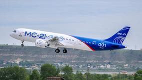 Rosyjski samolot pasażerski debiutuje w przestworzach