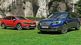 Volkswagen Passat Alltrack kontra Subaru Outback - które podwyższone kombi będzie lepszym wyborem?