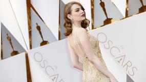 Oscary 2017: Stylizacje gwiazd na czerwonym dywanie