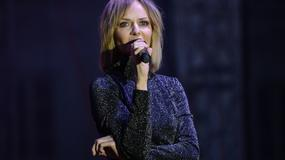 Seksowna Kasia Stankiewicz na koncercie