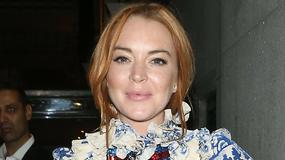 Lindsay Lohan w nieudanej kreacji. Co ona na siebie założyła?!