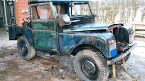 Land Rover z 1957 r. za 200 tys. funtów, czy 25 tys. zł?