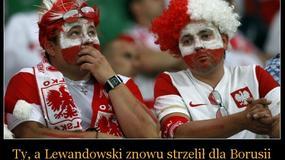 Lewandowski pokonał Szczęsnego - memy po meczu Arsenal Londyn - Borussia Dortmund