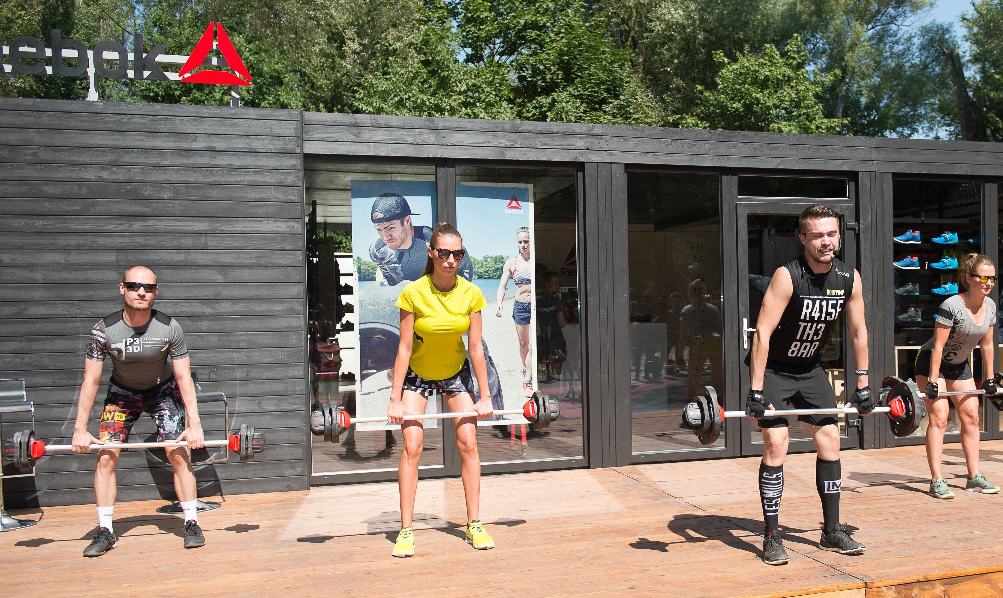 Reebok Fit Shop – letnie atrakcje dla aktywnych Czas na