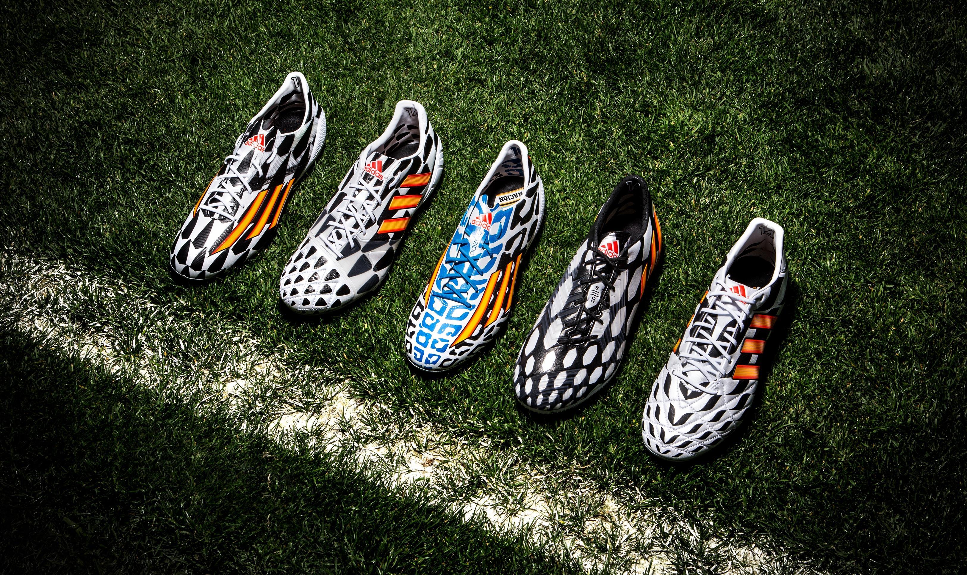 Adidas prezentuje kolekcję butów na mistrzostwa świata 2014