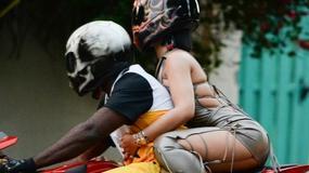Rihanna na planie nowego teledysku. Gorące zdjęcia!