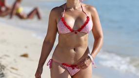Żona Lorenzo Lamasa w wyjątkowo skąpym bikini