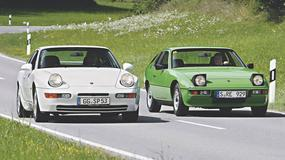 Porsche 924 kontra 968 - tak podobne, a jednak odmienne