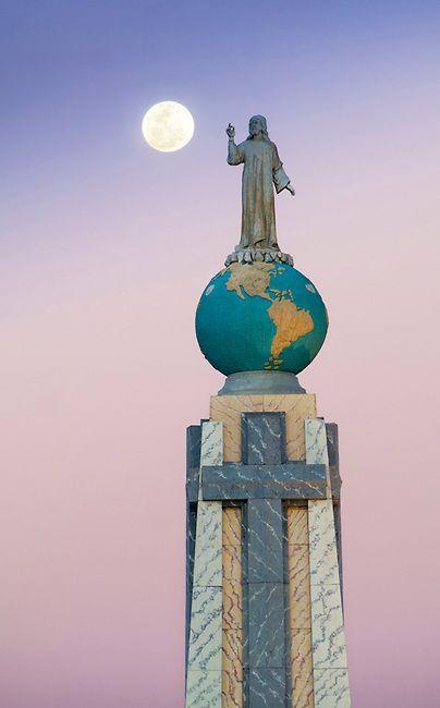 Monument to the Divine Savior of the World, El Salvador [pinterest]